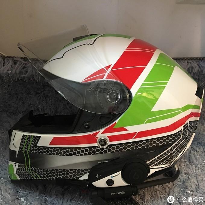 机车头盔专用蓝牙耳机维迈通v6加持,让你的旅行途不止是风声呼啸