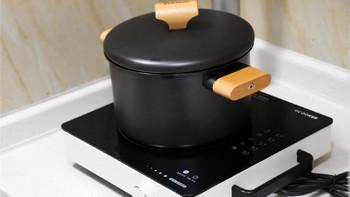 圈厨无涂层精铁汤锅外观展示(锅体|涂层|尺寸|锅盖)