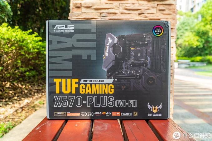 TUF Gaming X570-PLUS (WI-FI) 包装正面