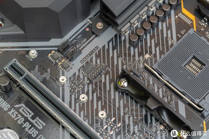 主板上还提供了可以外接TPM安全芯片的接口