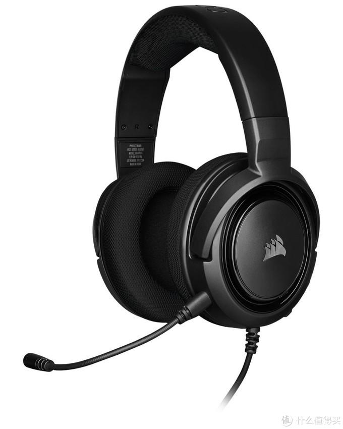兼容多平台、性价比方案:CORSAIR 美商海盗船 发布 HS35系列 游戏耳机