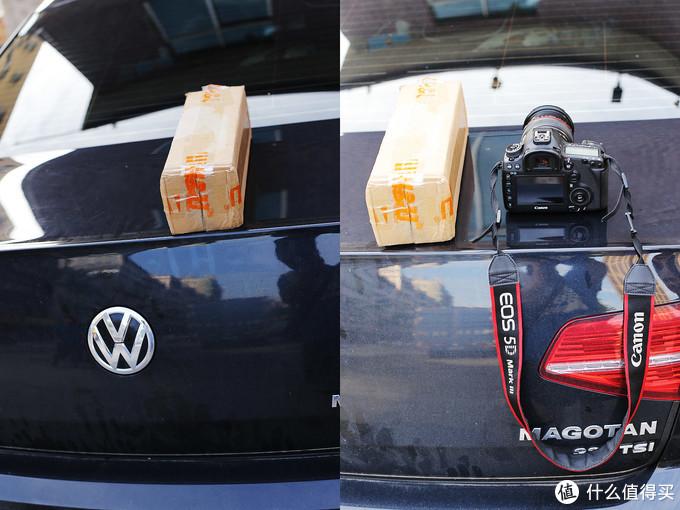 外包裹和相机比较,没大多少,也差不多重。