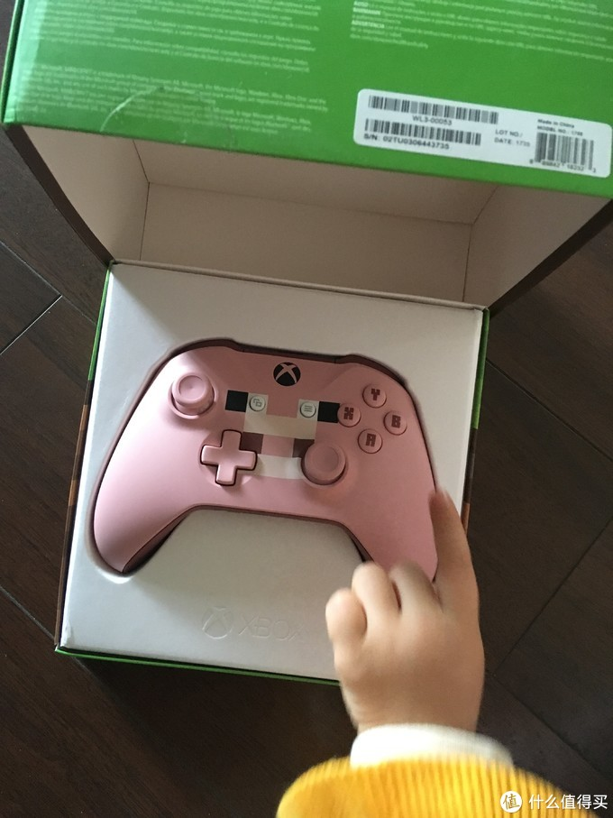 肥宅的少女心,猪年特价 粉红色xbox one手柄入手对比开箱