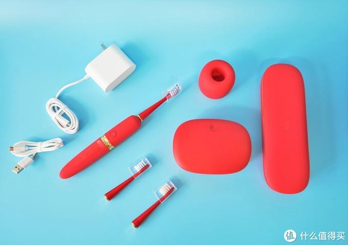 高档的享受,自信的笑容:XESS D3光波双净电动牙刷套装让你拥有这一切