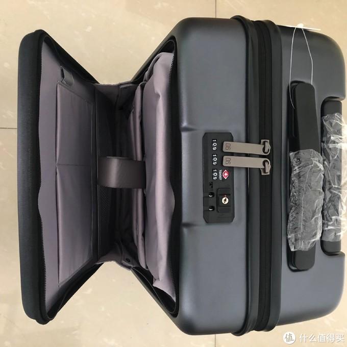 商务出行之选 — 小米(MI)米家90分轻商务旅行箱开箱晒物