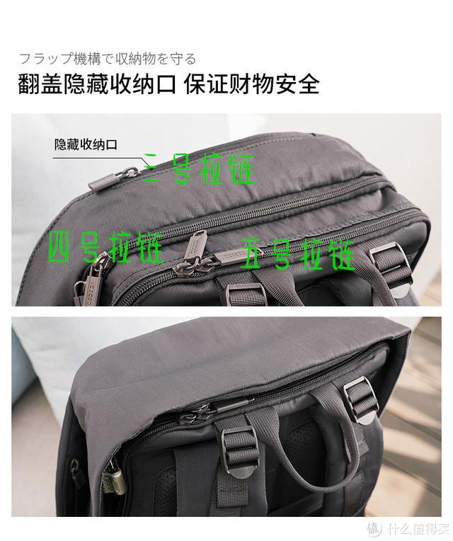 旅行のリュックサック:ELECOM宜丽客BM-ESBP01防盗双肩包众测体验
