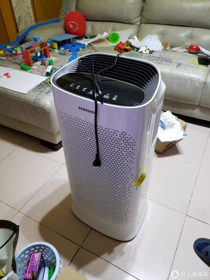 甲醛异味一扫空——三星空气净化器