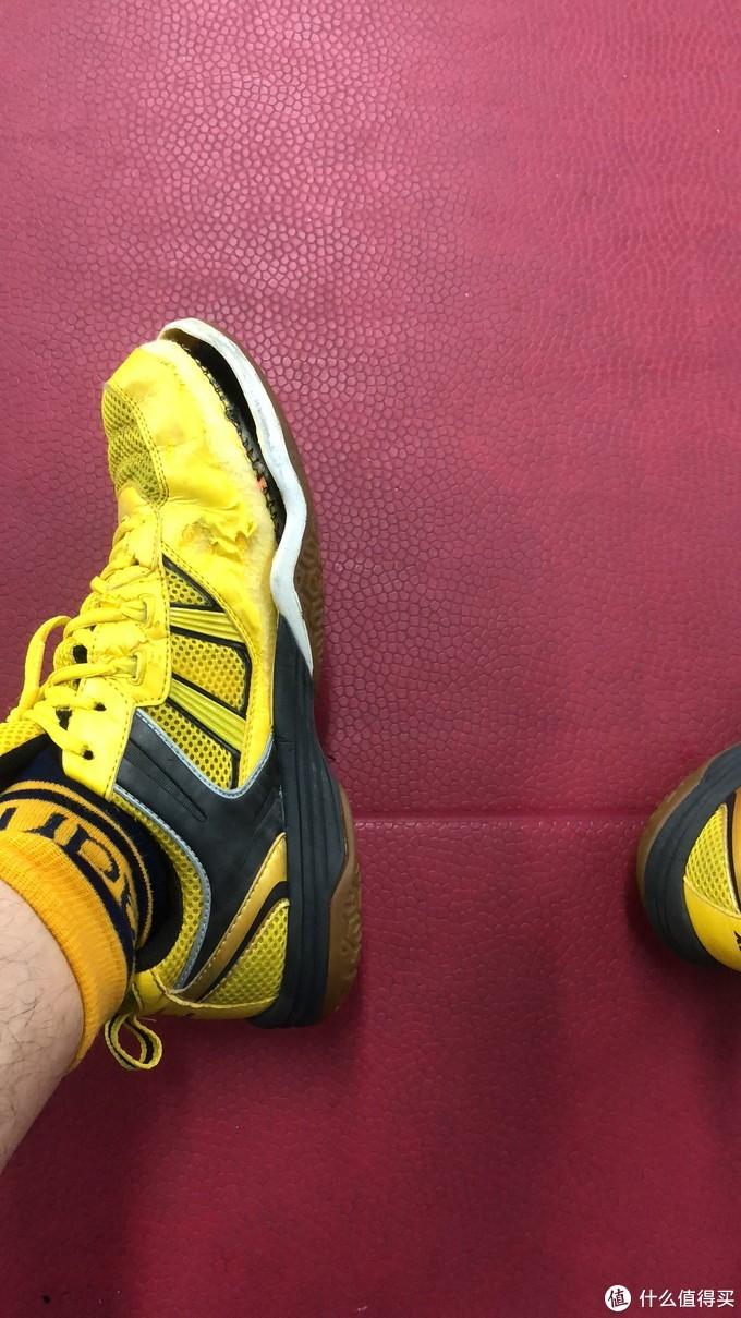 退休的球鞋