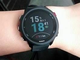 佳明 Forerunner245 多功能音乐手表开箱展示(表盘|表圈|屏幕|表带)