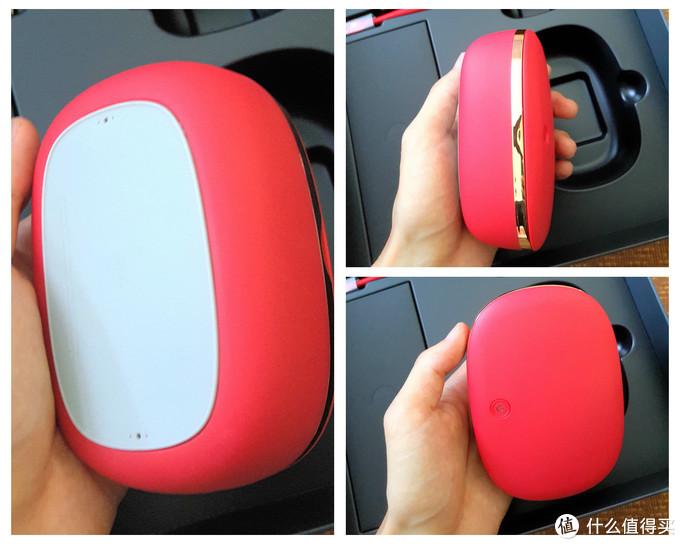 那一抹红的惊艳——XESS D3 光波双净智能电动牙刷(套装)