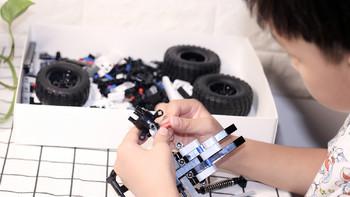 米兔 小米积木 沙漠赛车使用感受(搭建|系统|轮胎)