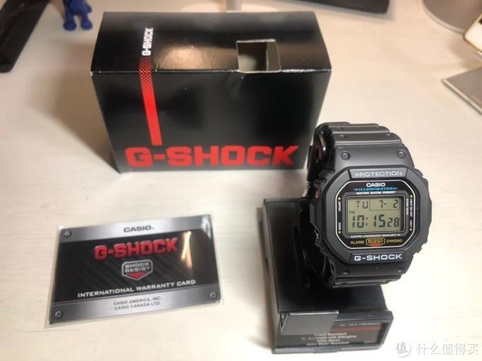 289元周杰伦同款:G-shock经典DW5600方块手表开箱评测