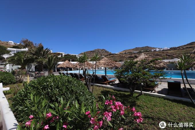 酒店一景,Google地图显示名称为阿芙罗芙蒂海滩度假酒店
