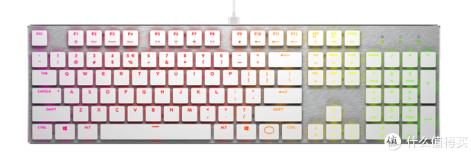 Cooler Master 酷冷至尊 发布 白色特别版 SK630/SK650 超薄机械键盘