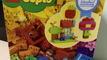 乐高 得宝10887-我的自由创意趣玩箱开箱展示(颗粒|板件|说明书)