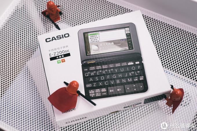 给小姨子留学之路准备的敲门砖:卡西欧E-Z200电子辞典