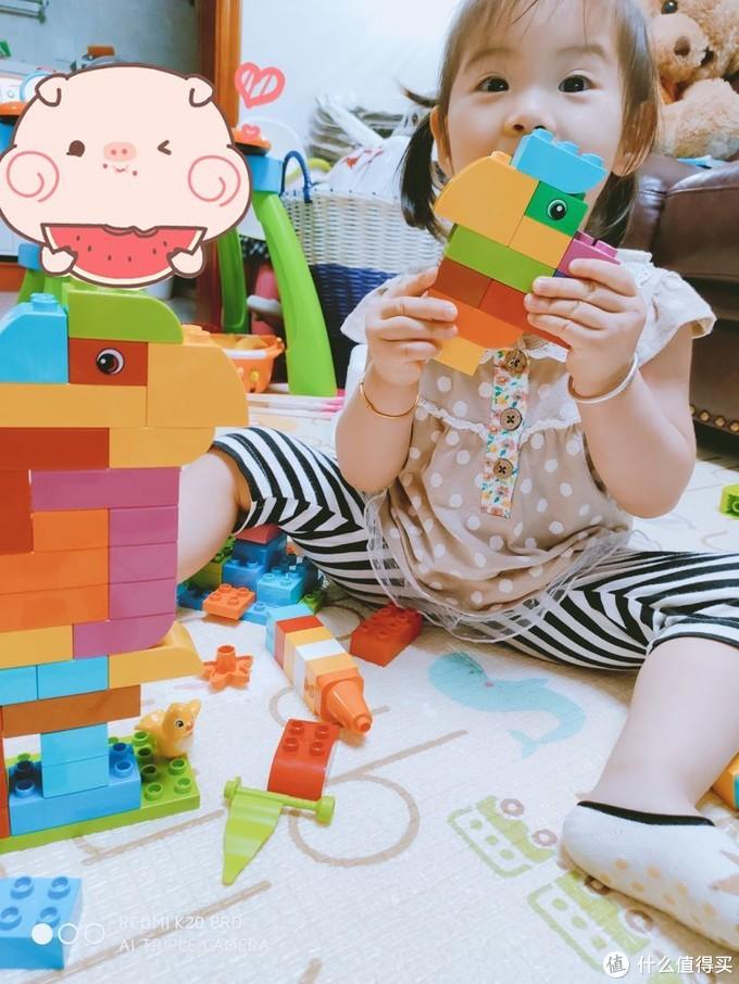 乐高 得宝10887-我的自由创意趣玩箱 开箱