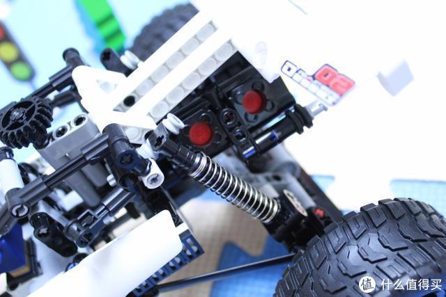 小米沙漠赛车积木-带你探索机械结构传动的秘密、一玩就上瘾的喔