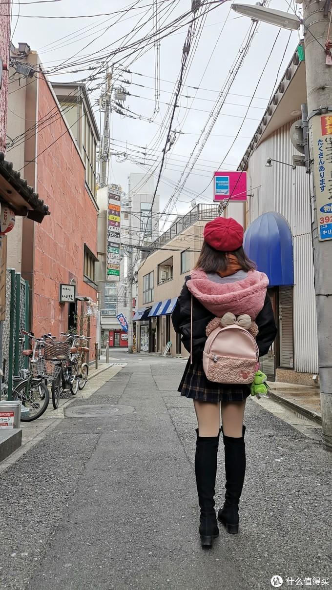 2019年1月在日本,体重已经降至100斤以下