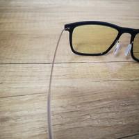 米家防蓝光眼镜PRO使用感受(镜腿 鼻托 镜片)
