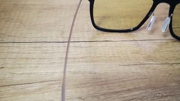 米家防蓝光眼镜PRO使用感受(镜腿|鼻托|镜片)