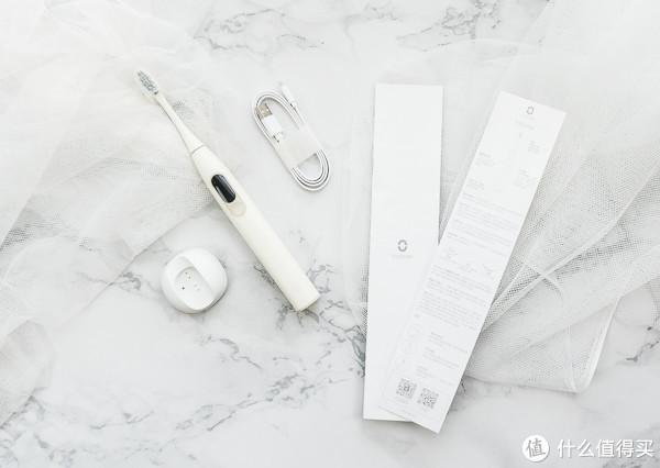 Oclean X电动牙刷体验,百元机上配备触控屏、压力控制体验如何?
