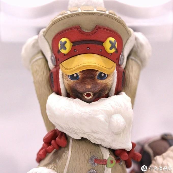 重返游戏:《怪物猎人 世界:冰原》艾露猫手柄架实物公开