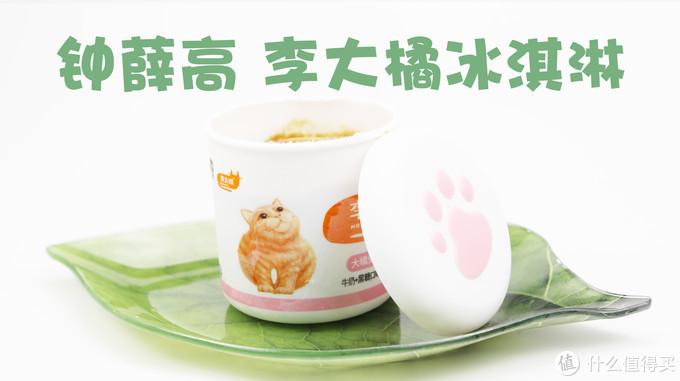 钟薛高 李大橘冰淇淋