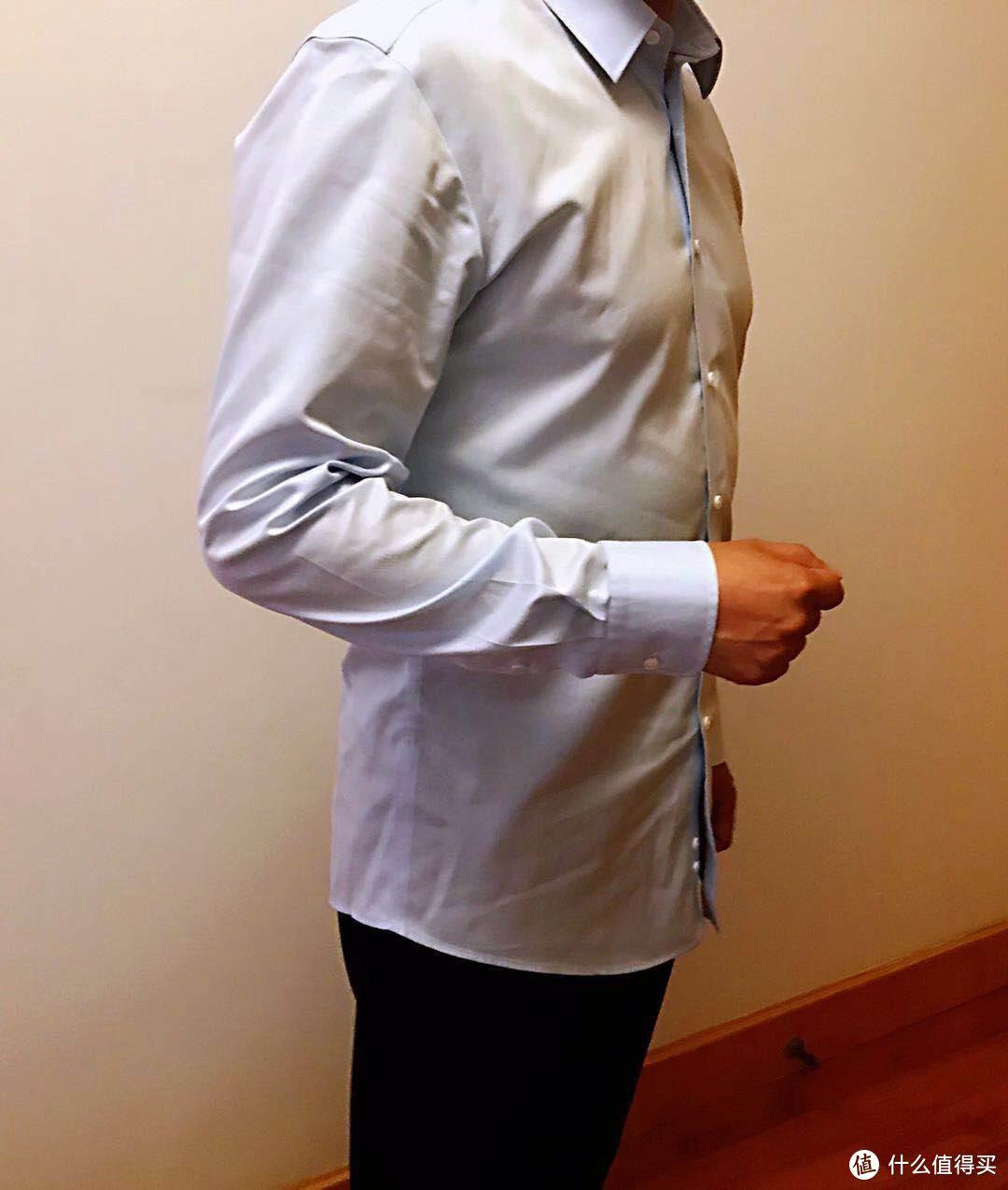 体验定制的舒适合身-码尚定制全棉免烫衬衫购入体验