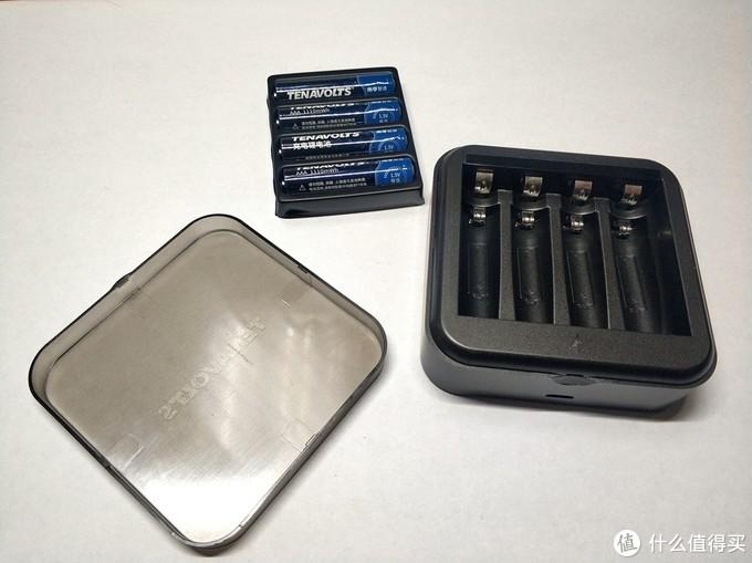 全程恒压,电池果然还是南孚好!——南孚7号AAA充电锂电池套装体验