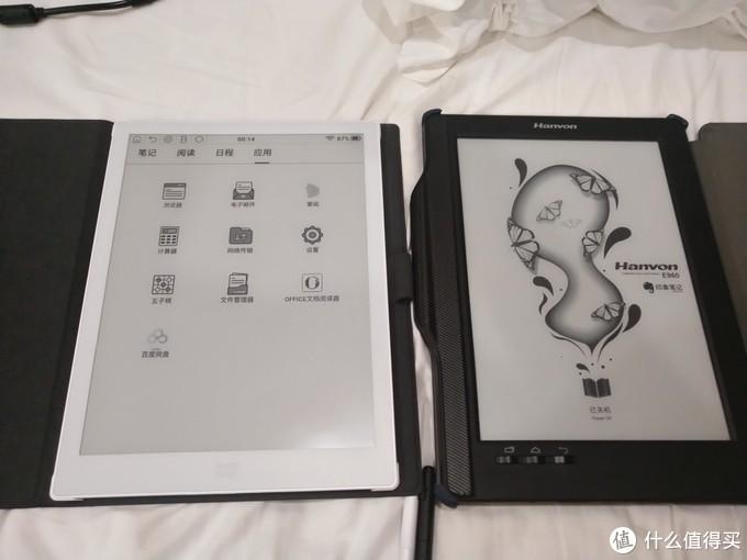 小米墨案与汉王E960plus对比