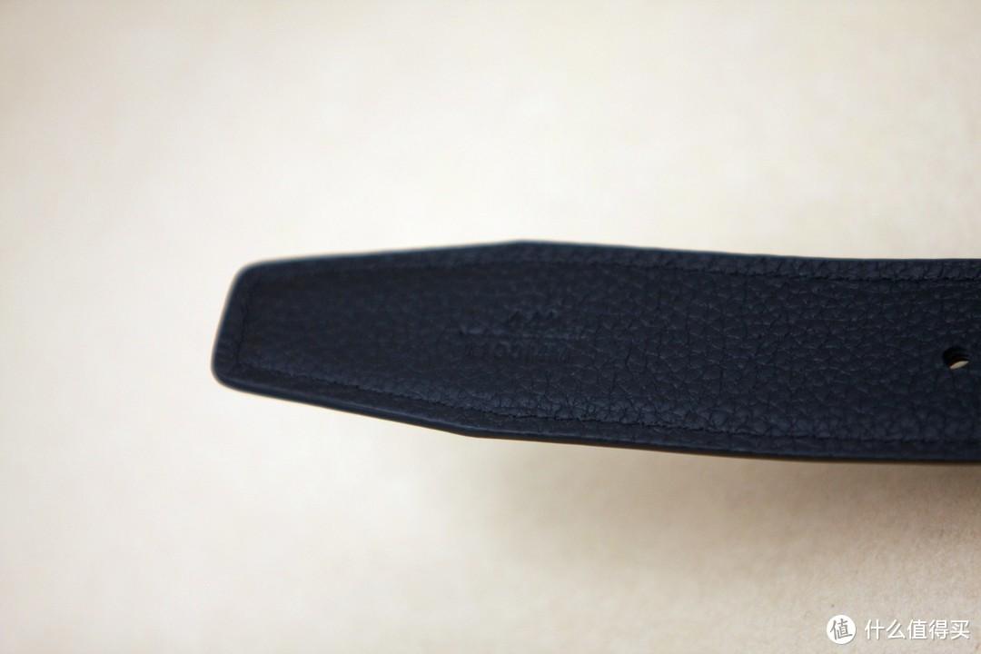 朴实低调-买了条京造男士皮带