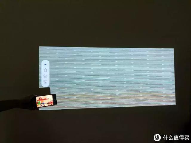 ▲触灵T1-SX手机投屏花屏