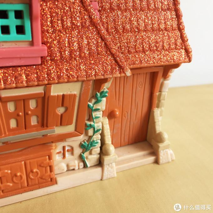 玩具测评丨Disney迪士尼美女与野兽公主小屋
