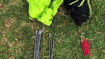 blackdeer黑鹿轻量帐篷外观展示(帐杆|内帐|地钉)