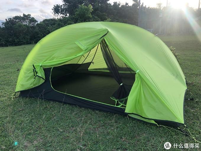 酷炫轻量 — blackdeer黑鹿轻量帐篷初体验