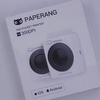 喵喵机P2迷你手机打印机外观展示(数据线|大小|充电口|出纸口)