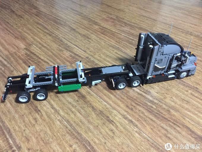 LEGO42078续篇,可玩性强的挂车