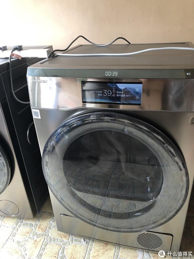 小天鹅 BVL2H100TY 10公斤 热泵式干衣机 使用体验