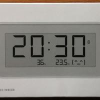 米家温湿监测电子表外观展示(电池 支撑脚 主机)