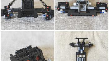 米兔 小米积木 沙漠赛车开箱展示(弹簧|驾驶舱|多连杆)