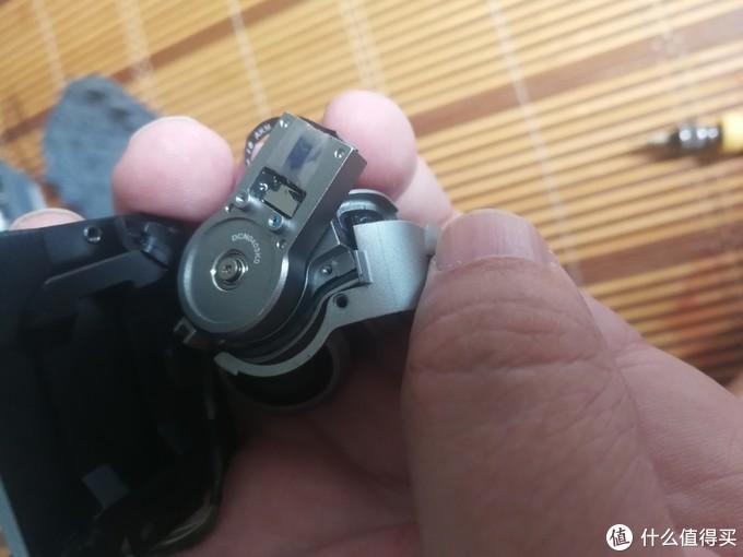 更换大疆御 PRO 摄像头排线