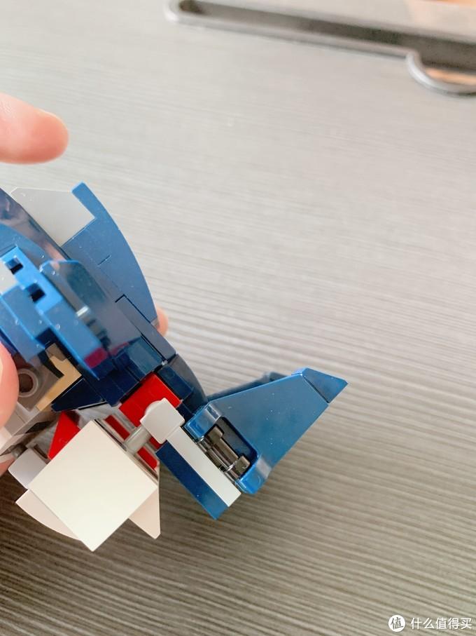 乐高创意百变31088拼搭指北:小飞机轻松三变,鱼型机甲和忍者出动