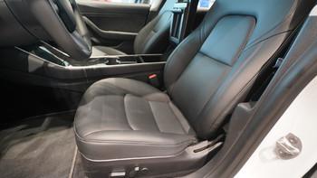 特斯拉 Model 3轿车使用总结(座椅|储物空间|后排|车门)