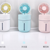 奥睿科 ORICO-WT-FHU-BL 加湿器小风扇使用感受(喷雾|功能|风力)