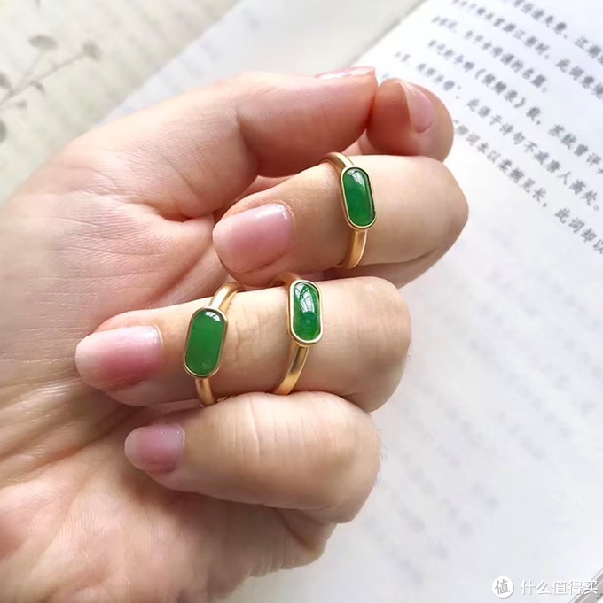 (翡翠戒指设计 图片来源于网络)
