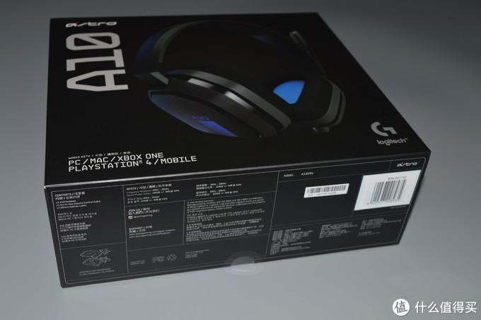 入门游戏耳机优选之----罗技ASTRO A10游戏耳机体验