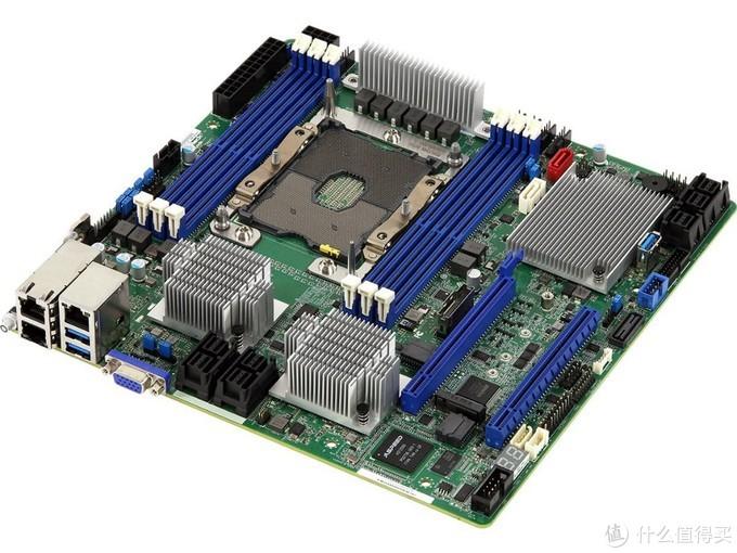 可扩展30块硬盘、双万兆:ASRock 华擎 发布 EPC621D6U-2T16R 工作站主板