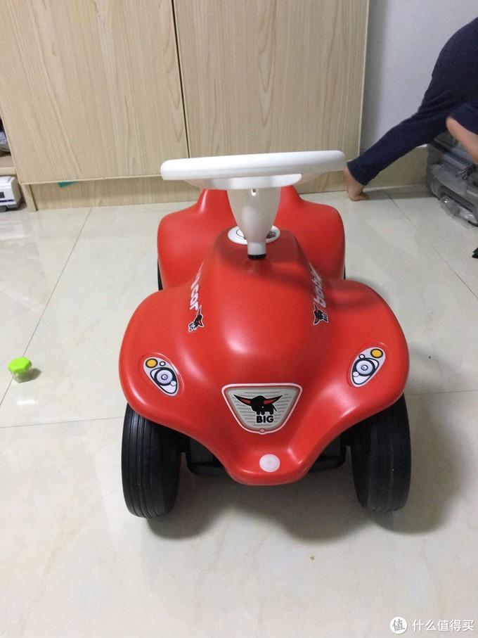 德国BIG新款红色波比车体验报告 颜值高 宝宝喜欢