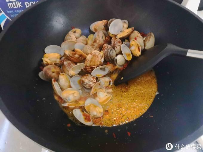 辣炒花蛤就是夏天的味道